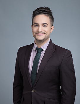 Alexandre Lescouflair, the immigration lawyer of Simard & Associates.